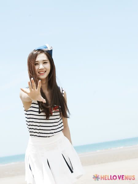 Hello Venus - Yoo Ara - Like a Wave photoshoot