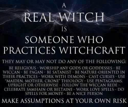 I am a witch. I am also an eclectic pagan, I do not conform to one form of paganism.