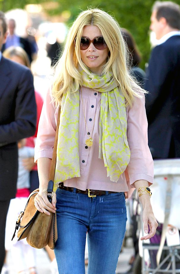 claudia schiffer the look claudia schiffer fashion