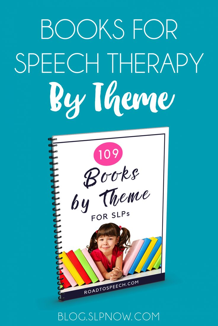 Out of ideas for your speech therapy sessions? Check out this FREE list of 109 books (sorted by theme) for some inspiration!