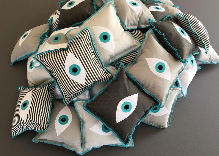 Evil-Eye Decorative Pillow