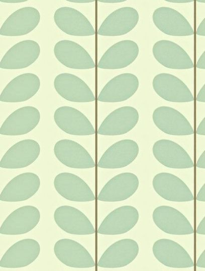 Classic Stem, a feature wallpaper from Orla Kiely, featured in the Orla Kiely Wallpapers collection.
