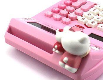 Hello Kitty Office Supplies   office supplies,office equipment,calculators,Hello Kitty Solar ...