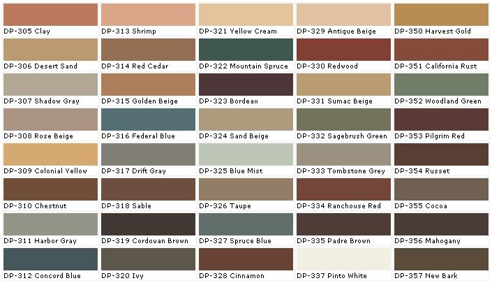 Behr paints behr colors behr paint colors behr for Paint charts for kitchens