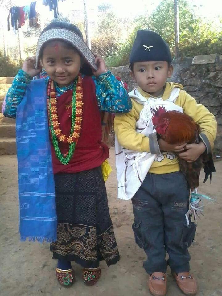 Kids In Gurung Dress Up About Nepal Gurung Dress Kids