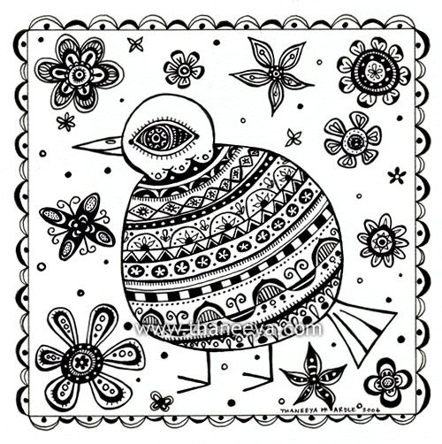 17 best images about el arte on pinterest folk art for Folk art coloring pages