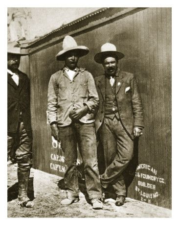 Pancho Villa and Two Rebels ( mother-in-laws' father rode with Pancho Villa)