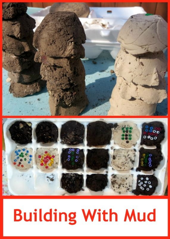 Earth Science for Kids: Building Bricks with Mud