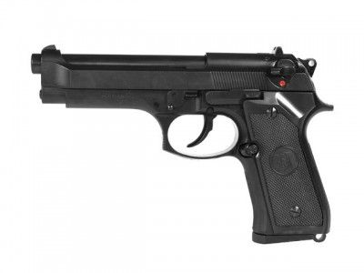 REPLIKA M92F/M9 Full Metal Gas AUTO BACK Pistol [KJW]