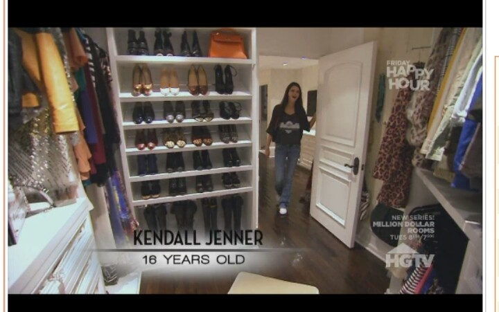 Kendall Jenners Closet Decoration Pinterest Jenners