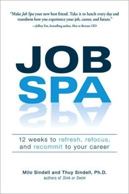 Does your boss ignore you? Is your career going nowhere? Are you just going through the motions? If so, you need a trip to the Job Spa. Inside, authors Milo Sindell and Thuy Sindell detail an easy-to-master program that shows you how to reengage with your work and approach your career with new levels of energy and enthusiasm.
