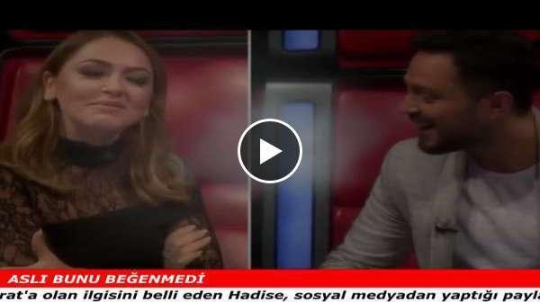 HADİSE'DEN ASLI ENVER'İ KIZDIRACAK 'MURAT BOZ' PAYLAŞIMI!