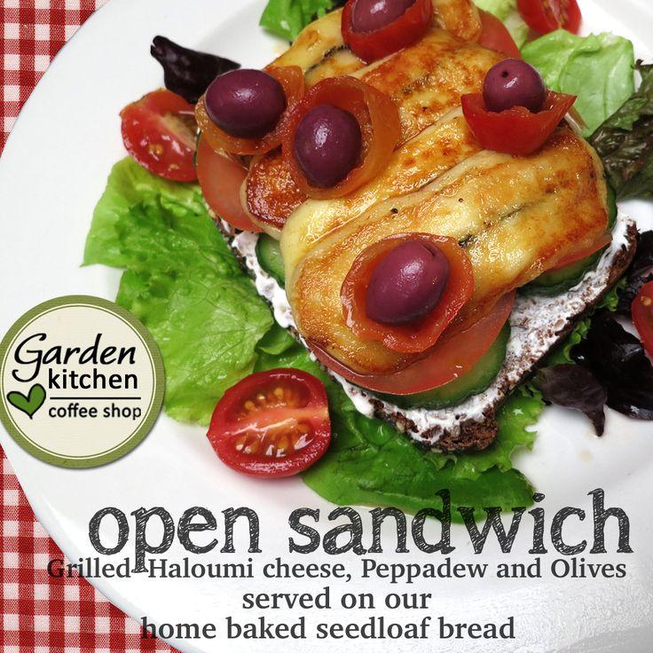 open sandwich   The Garden Kitchen