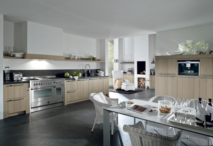 Houten keuken keuken pinterest - Redo keuken houten ...