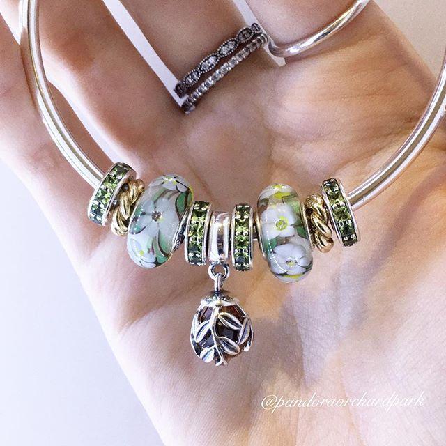 Pandora Beads, Pandora Charms, Pandora Bracelets, Silver Bracelets, Charm  Bracelets, Pandora Collection, Summer Flowers, Summer Looks, Grass