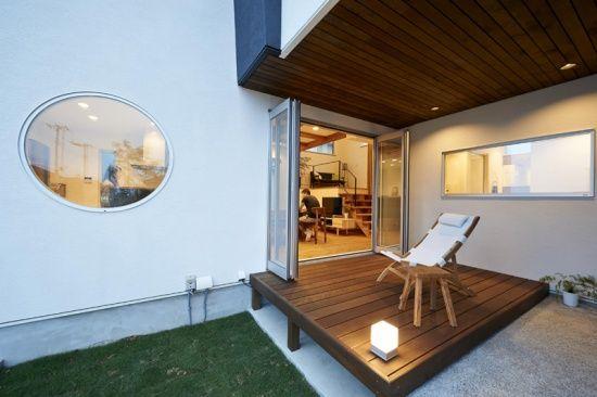 OUTDOOR ROOM (ポウハウス(POHAUS))|スキップフロア_カテゴリー|建築実例|埼玉・千葉・東京の注文住宅・建て替えならポラス(POLUS)の注文住宅
