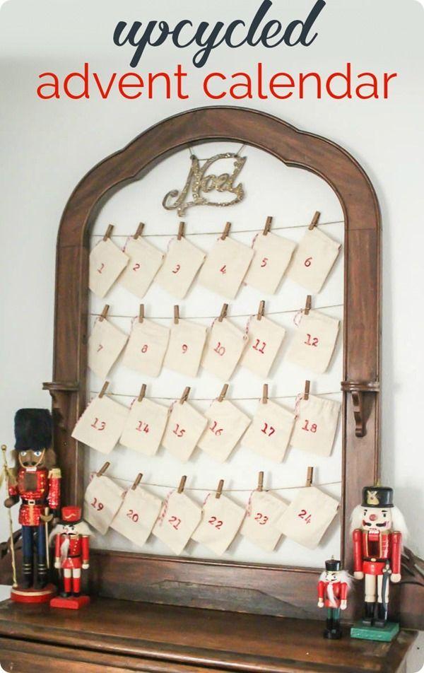 Diy Reusable Advent Calendar : Best diy holiday decorating images on pinterest la