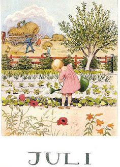 months of year- Elsa Beskow - Cerca con Google