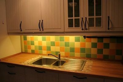 Tile Around Sink Wooden Countertops Google Search