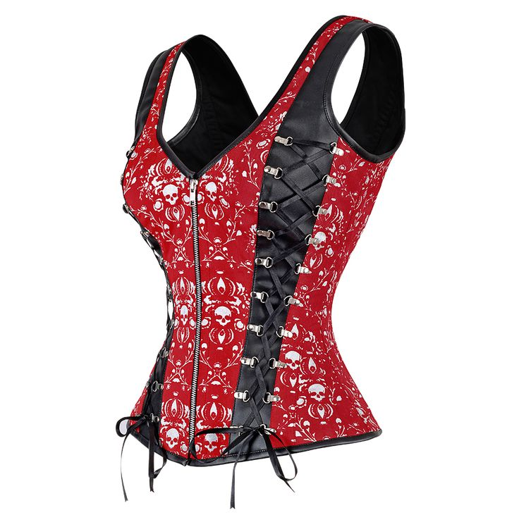 Red corset clothes — photo 15