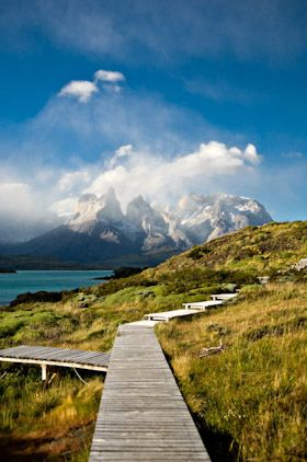 Patagonia boardwalk