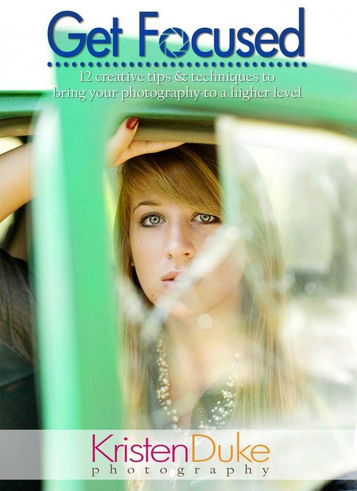 Get Focused: 12 creative tips and techniques for sharper images. #photography #camera #dslr www.KristenDuke.com