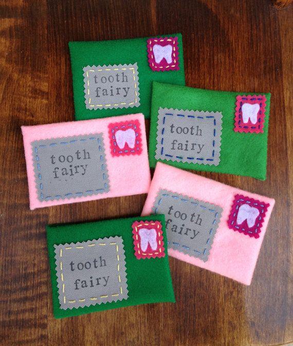 Tooth Fairy Mini Envelope