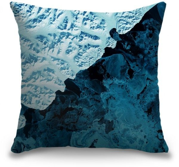 For the ultimate style statement, be daring in your accent choices. See the Kamchatka Peninsula - USGS Earth as Art throw pillow by United States Geological Survey at CanvasOnDemand.com.