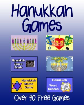 Play free online Hanukkah games for kids with our huge collection festive and fun games. Play games like Hanukkah Lights Coloring, Hanukkah Word Search, Hanukkah Jigsaw Puzzle, and HHanukkah Dreidels Coloring.