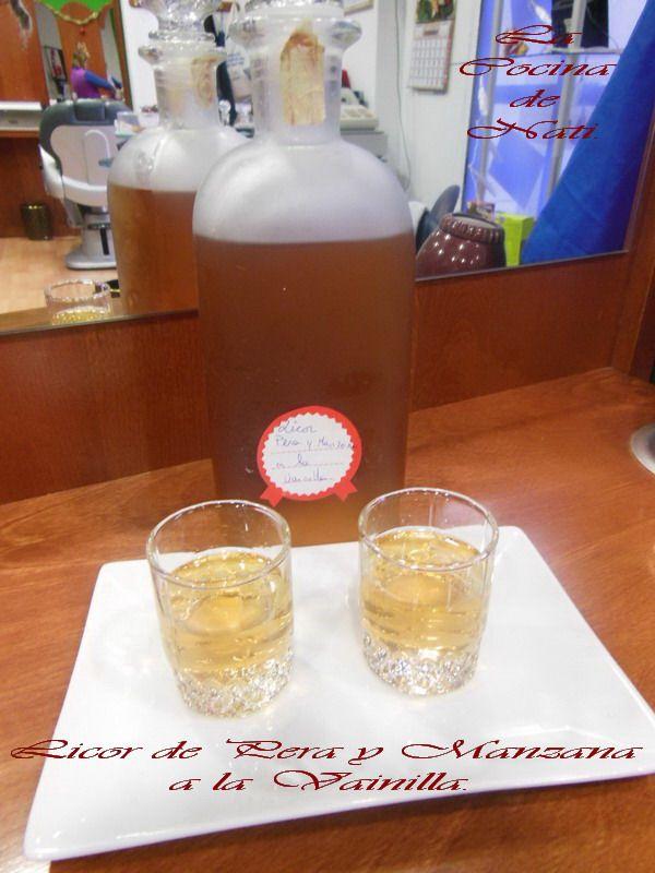 Para empezar la semana hoy os traigo este rico licor que he preparado  con frutas de mi huerto. Yo no los bebo pero en Navidades me bajo a l...