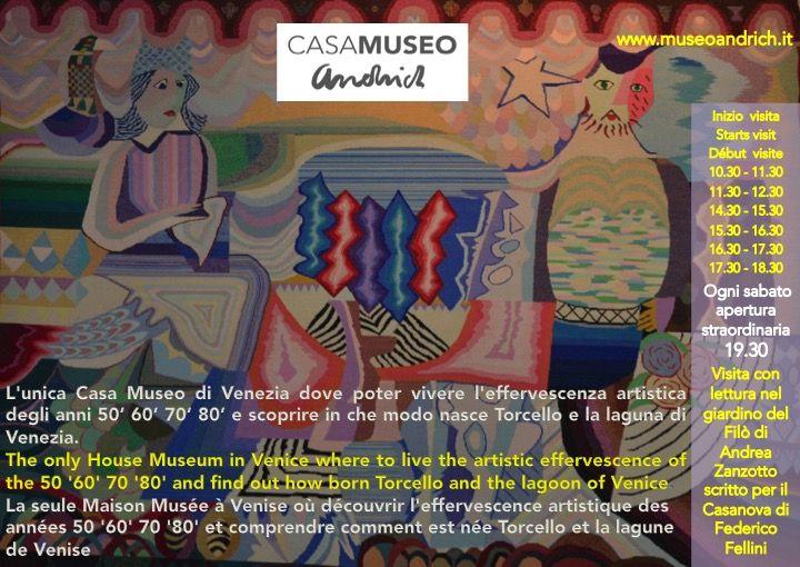 Torcello: Prenota la visita a Casa Museo Andrich + lettura del Filò di Andrea Zanzotto
