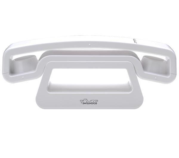 Téléphone DECT ePure - blanc + Filtre ADSL . sur Tribway