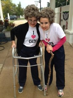 Old Lady Halloween Costumes.  That is hilarious!