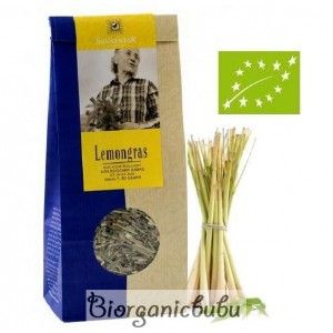 Ceai ecologic Lemongrass vrac, 80 g