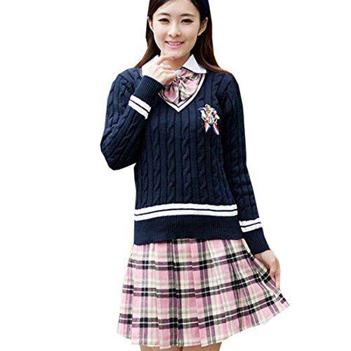 Partiss Maedchen Sweet Japan Schuluniform Fancy Dress Kle... https://www.amazon.de/dp/B01CJG4FD0/ref=cm_sw_r_pi_dp_vOjHxbPTFXH82