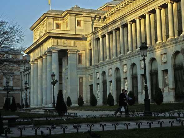 Museu do Prado - Localizado em Madri, na Espanha, o museu conta com obras de importantes artistas, como Velázquez e Goya.