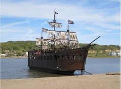 For sale: Real-life pirate ship (Picture: Craigslist)