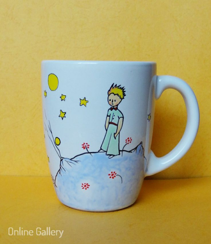 cana pictata personalizata micul print #handmade #painted #mug #art #littleprince