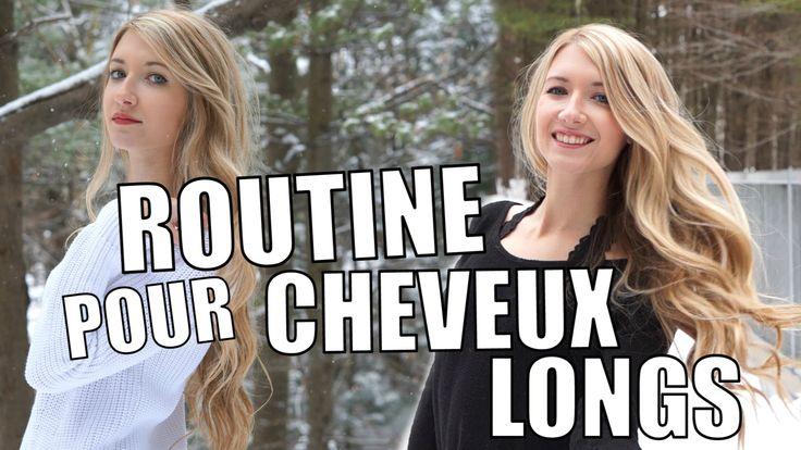 ROUTINE POUR CHEVEUX LONGS + COMMENT JE GARDE MES CHEVEUX EN SANTÉ!
