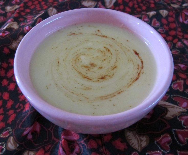 Recipe Cauliflower and Zucchini Soup by The Power of Real Food - Recipe of category Soups