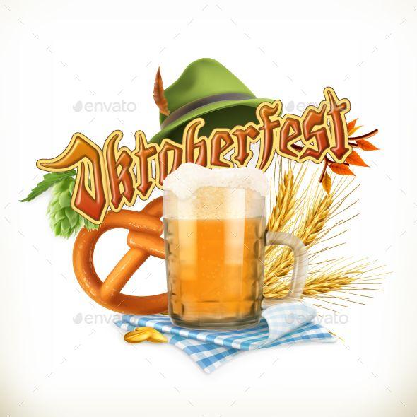 Munich Beer Festival Oktoberfest, Vector
