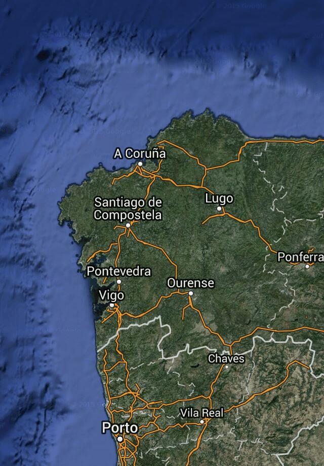 MAPA DE GALICIA MÁXICA (www.galiciamaxica.eu)