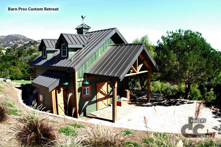 Diminutive barn pros custom retreat barn pros barns for Barn pros nationwide