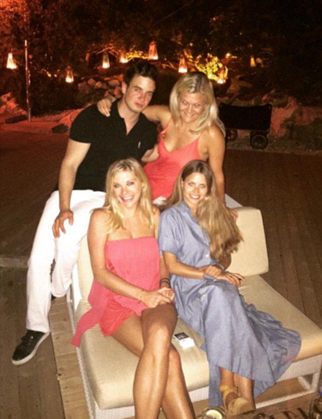 Prince Harry's fun-loving former girlfriend Chelsy Davy (pictured, wearing a strapless red...
