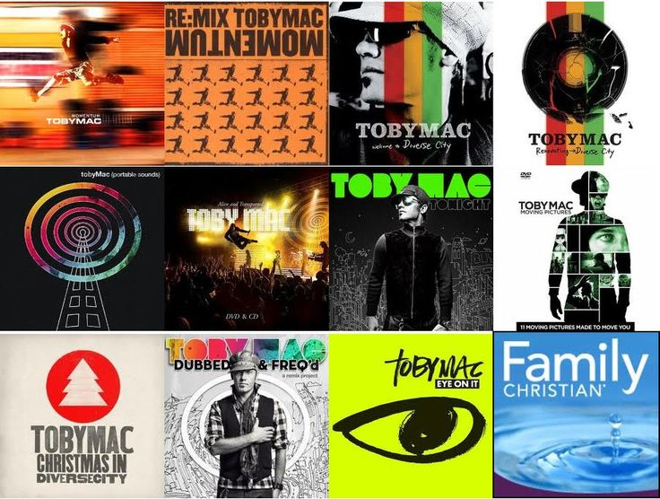 Toby Mac albums I Love the Music I own 5 CD's and they are great Love Jesus Freek Back 2 Back with Toby Mac
