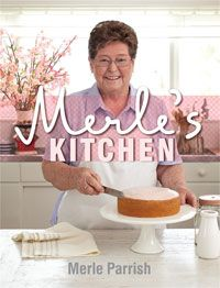 Merle's Kitchen by Merle Parrish - my latest favourite baking recipe book. First thing I'm making are the Sponge Powder Puffs. Merle says they melt in your mouth!
