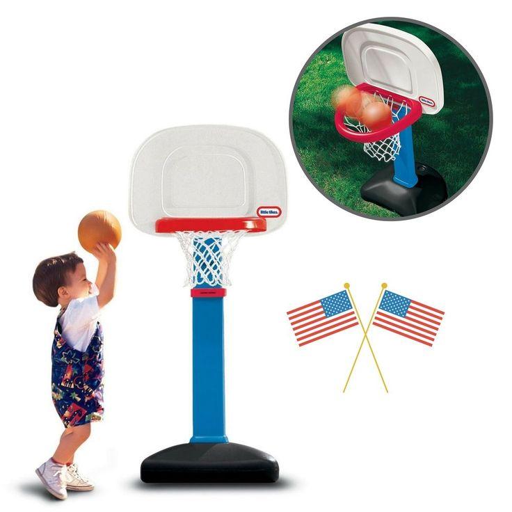 Outdoor Kids Games Basketball Hoop 3 Small Balls Toys Children Play Score Patio  #KidsGamesBasketball