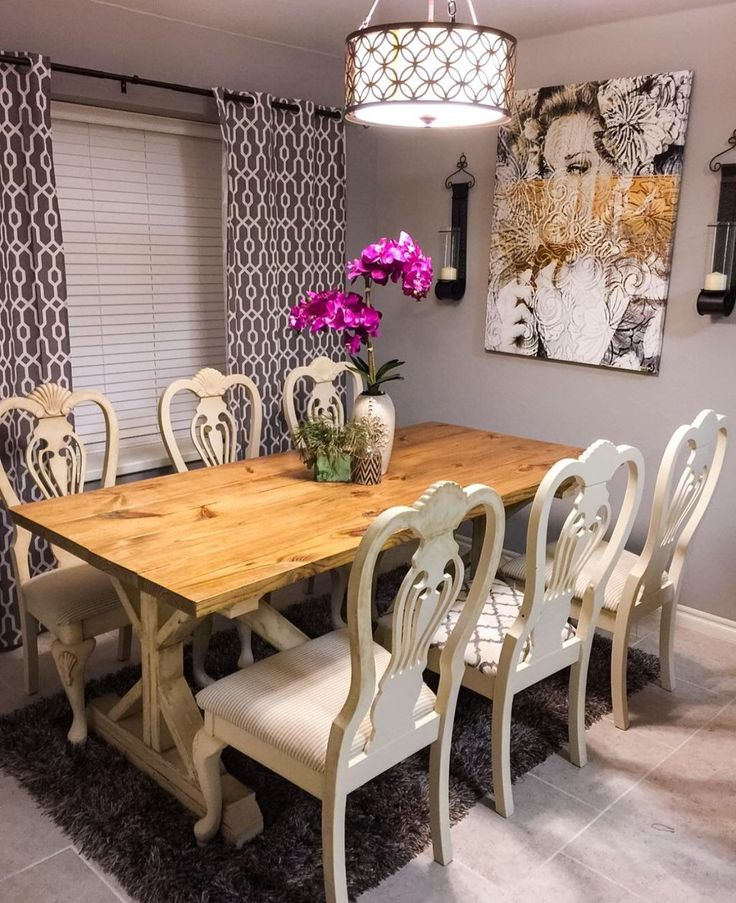 154 Best Dining Room DIY Inspiration Images On Pinterest