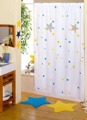 Decoración: Estrellas: amarillos y azules