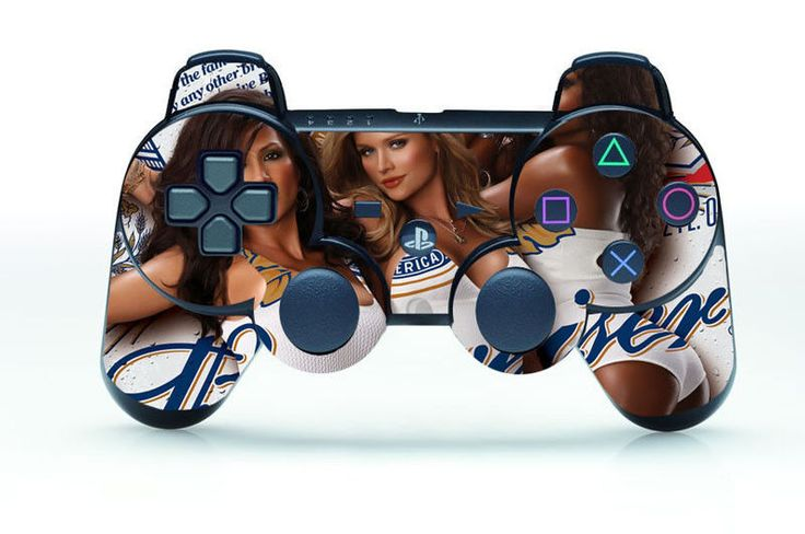 New Hot Sexy Team SKIN STICKER for PS3 REMOTE CONTROLLER PLAYSTATION 3 Custom #UnbrandedGeneric